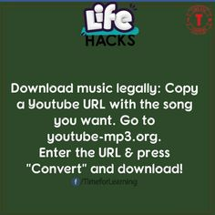 Life hack for free music