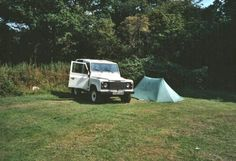 Landrover Defender 90 - Camping