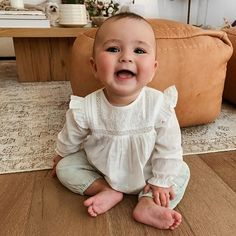 Our little girl dress & infant clothes are severely lovely. Cute Little Baby, Lil Baby, Little Babies, Baby Love, Cute Babies, Baby Kids, Cute Baby Pictures, Baby Photos, Baby Family