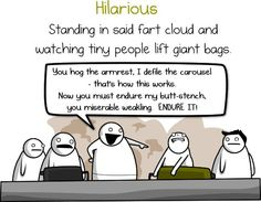 best revenge scheme to exact on airplane enemies The Oatmeal Comics, Creepypasta, Revenge, Inspire Me, Make Me Smile, Airplane, Laughter, Haha, Funny Quotes