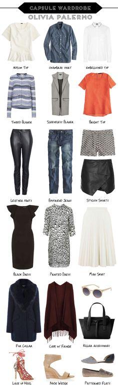 The Olivia Palermo Capsule Wardrobe