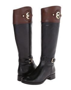 NIB MICHAEL Michael Kors Stockard Leather Tall Riding Women Boot Size 7 $325 in Boots   eBay
