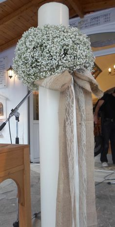 Wedding Bouquets, Wedding Flowers, Wedding Dresses, Church Flowers, Love And Marriage, Ladder Decor, Floral Arrangements, Wedding Venues, Wedding Decorations