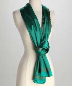 Take a look at this Girl in the Green Scarf by Azuri on #zulily today!
