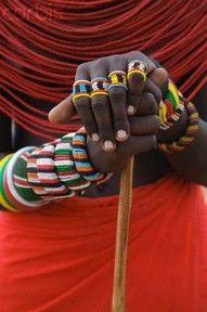 Hands of Samburu Tribeswoman  © Keren Su