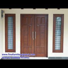 House Main Door Design, Home Door Design, Main Entrance Door Design, Wooden Front Door Design, Double Door Design, Wooden Front Doors, Door Design Interior, Traditional Front Doors, Join