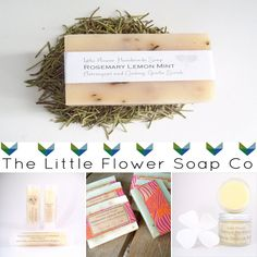 Little Flower Soap Co. #BathandBody #Weddings