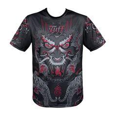 Tuff Boxing Muay Thai MMA Fitness Jersey TUF-TS004 #TuffSport #TShirt