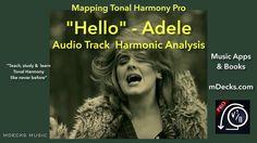 Hello - Adele (Harmonic Analysis, Piano Chords)
