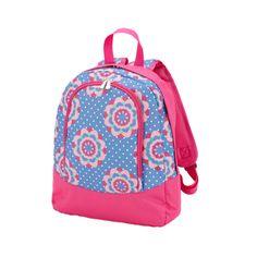 Mandala Girls Blue Preschool Toddler Childrens Backpack /& Lunch Box Set