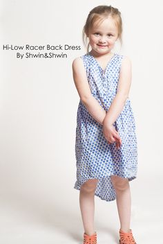Shwin&Shwin: Hi-Low Racer Back Dress || Summer Collection