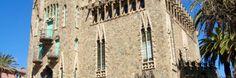 Wieża Bellesguard w Barcelonie to rewelacyjne dzieło Antoniego Gaudiego. Jeden z obowiązkowych punktów podróży po Barcelonie:)