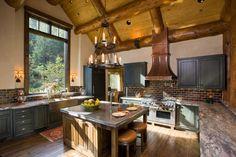 Cozy Kitchen in Aspen, Colorado [Xpost /r/DesignPorn] - Imgur