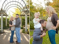 maternity posing with a toddler. Mischief and Laughs Photography by Cara Harrison