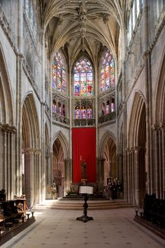 Gothic architecture in the entirety of France, pics and plans of tons of churches!