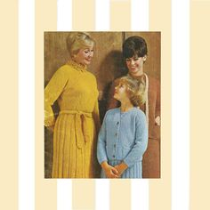Vintage 1970s Textured Fashions Beehive Book 107 by Redcurlzs