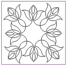 flower basket quilt block | Tulip Basket Block