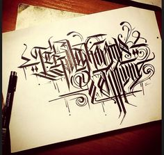 Calligraphy / on Russian language 4 by Wator.deviantart.com on @deviantART