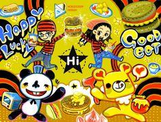 【Hi 嗨早安漢堡歡樂早餐- 短篇小漫畫 】 從平凡的早餐店裡頭,也可以有不平凡有趣可愛的插畫! 早餐店新開張店裡會很忙碌,所以帕尼尼與土司熊都來幫忙瞜  ★【主連結>>http://blog.yam.com/hoelex/article/19312950