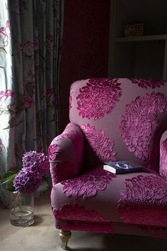 Bedroom Reading Chair by Cotton Tree Interiors T: (+44)1728 604700