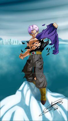 by Xx-Tenten-xX on DeviantArtMirai Trunks - Fine as Wine! Well aged over time lol. From Xx-Tenten-xX. to Trunks and Mai (Chibi) design designer designs designlife gardeningti .Mirai Trunks and Mai (Chibi) Dragon Ball Z, Trunks Super Saiyan, Super Trunks, Kid Buu, Trunks Dbz, Manga Anime, Anime Art, Dbz Drawings, Anime Characters