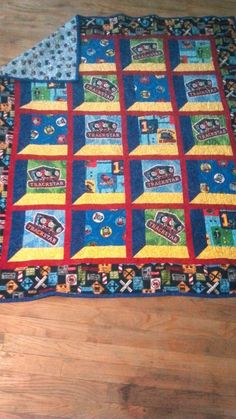 Thomas the Train Quilt Kit! | Quilts | Pinterest | Kid quilts ... : thomas quilt - Adamdwight.com