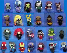 Infinity war amigurumi pattern set 25 cochet patterns offer. Instant download pdf patterns Inspired by the avengers
