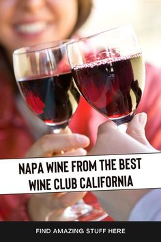 Here's How To Get The Finest Wines From Napa Valley Free Of Charge #wineclub #winelovers #NapaValleyWine #napavalleywines #wineclublife #wineclubs