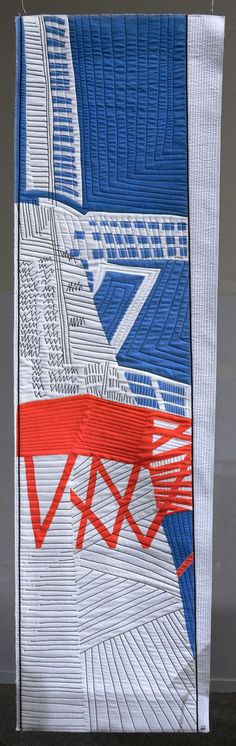 Molen (Windmill) by Willy Doreleijers. Mary & Patch: 2013 Open European Quilt Championship