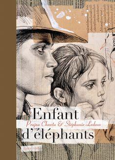 Stéphanie Ledoux - Carnets de voyage - Enfant d'elephants