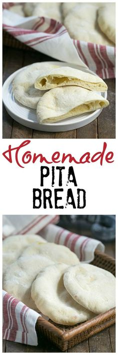 Homemade Pita Bread | Soft, pillowy and magnificent!! /lizzydo/