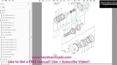 Hitachi Ex40 2 Excavator Equipment Components Parts Catalog Manual Seria Parts Catalog Hitachi Manual