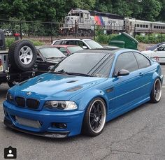 My Laguna Seca Blue BMW e46 M3 with tons of custom mods! Pic by William Jordan