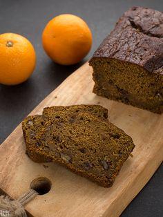 TTH - Dyniowy chlebek z polewą kawowo-cynamonową (wegańskie, bezglutenowe, bez cukru)