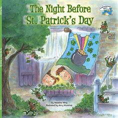 """""""The Night Before St. Patrick's Day"""" is a book about a family who celebrates St. Patrick's Day then searches for a mischievous leprechaun. The book is very colorful and while reading I asked the students to identify colors on the pages. It is important that preschoolers know all of their basic colors before kindergarten. Please download the homework and complete the attached worksheet with your child."""