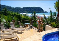 ****** $9,849 CDN  ****** Jaco  Entire home/apt in Jaco, CR. 9 Bedrooms, 8 Bathrooms (2 Half Bath), 9 Living Areas, Accommodates 18  Welcome to our remarkable 9 Bedroom 3-Story Luxury Villa, with a roof top Jacuzzi overlooking Jaco Beach, Mini Bar and AMAZING Ocean views. We are 100% family and party friend...
