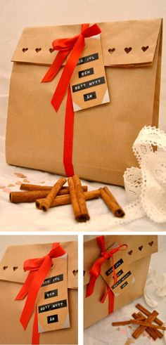 Kreativ inredning - gift wrapping