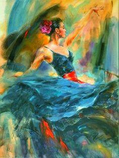 *Flamenco Solea* ~ by Anna Razumovskaya ♥