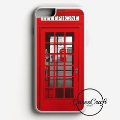 London Telephone Booth iPhone 7 Plus Case | casescraft