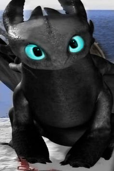 toothless big eyes by - photo #13