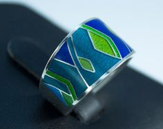 Ornament Jewelry Cloisonne Jewelry Ring 151.- Dollar