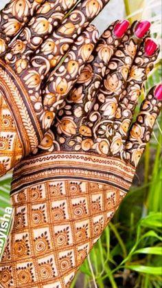 Wedding Henna Designs, Modern Henna Designs, Engagement Mehndi Designs, Floral Henna Designs, Henna Tattoo Designs Simple, Basic Mehndi Designs, Latest Bridal Mehndi Designs, Mehndi Designs 2018, Henna Art Designs