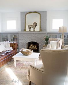 Cozy up your living space. @ Kindred Vintage Co.