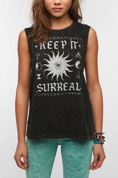 Mont La Roc Mineralized Surreal Muscle Tee  #UrbanOutfitters