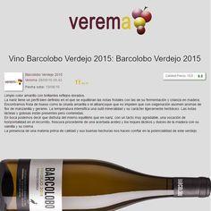 El turno de Barcolobo Verdejo FB en Verema