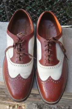 Walk A Mile In My shoes Great 1950s Wingtip Mens by HartsCloset, $224.99