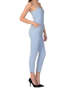 Chambray Crop Jumpsuit from The Shopping Bag