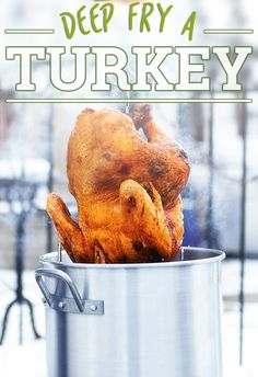 Perfect for your Thanksgiving turkey this year, our Backyard Pro 30 Quart Deluxe Turkey Fryer Kit can help you deep fry the a delicious turkey.