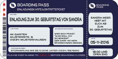 Einladungskarten Zum 30. Geburtstag Kostenlos Download