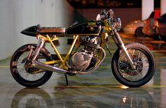 Intruder 250 Cafe Racer by Kleber Bertoldo | Garagem Cafe Racer
